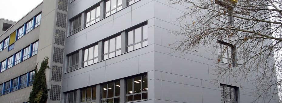 Alucobond - Adolf-Reichwein-Schule, Marburg