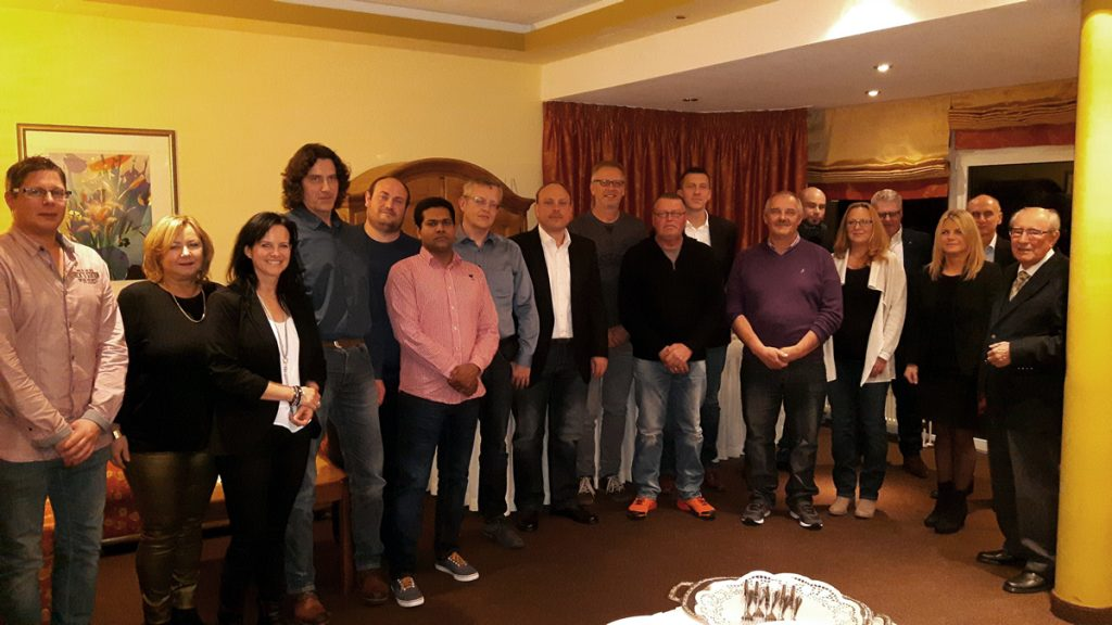 Herbst Unternehmensgruppe Jubilare 2017