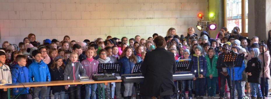 Richtfest Grundschule Langendiebach 2019